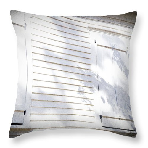 Kelly Rader Throw Pillow featuring the photograph Window by Kelly Rader