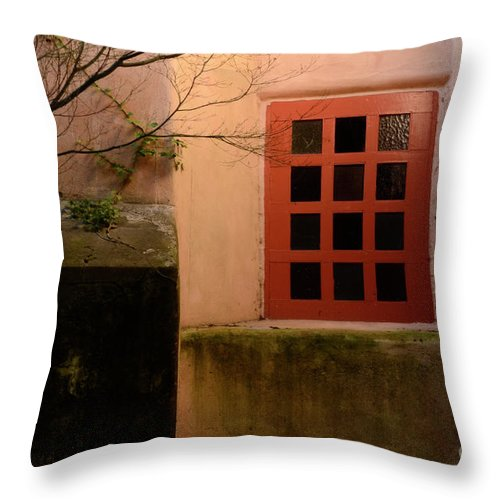 Carmel Throw Pillow featuring the photograph Window Light by Bob Christopher