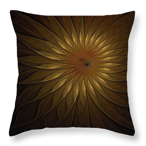Digital Art Throw Pillow featuring the digital art You Are My Sunshine by Amanda Moore