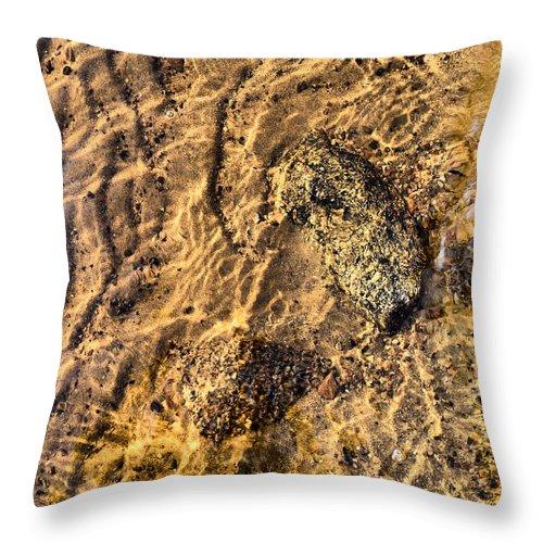 Haukkajärvi Throw Pillow featuring the photograph Lakescape 1 by Jouko Lehto