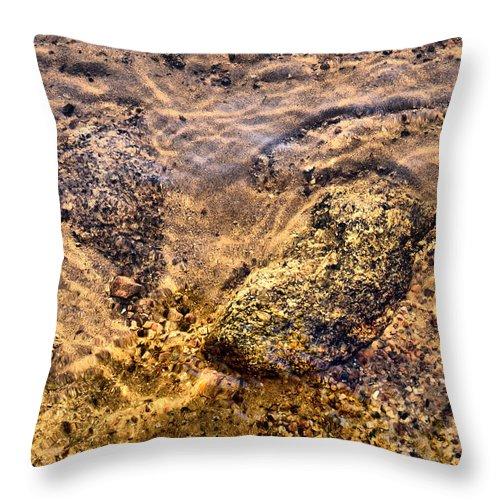 Haukkajärvi Throw Pillow featuring the photograph Lakescapes 3 by Jouko Lehto