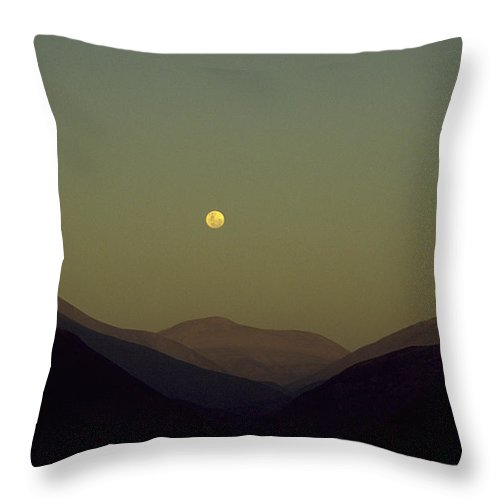 Photograph Throw Pillow featuring the photograph The Andes Mood by Michael Mogensen