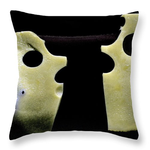 Living Room Throw Pillow featuring the photograph #0003 by Alexander Gerasimov