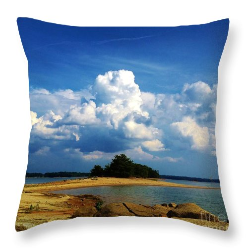 Iphone 4s Throw Pillow featuring the photograph 05222012103 by Debbie L Foreman