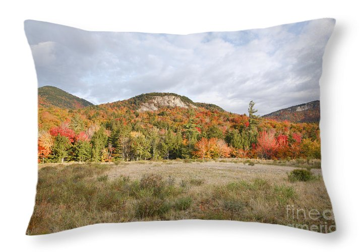 White Mountain National Forest Throw Pillow featuring the photograph Kancamagus Highway - White Mountains New Hampshire Usa by Erin Paul Donovan