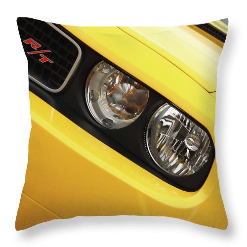 2011 Throw Pillow featuring the photograph 2011 Dodge Challenger Rt by Gordon Dean II