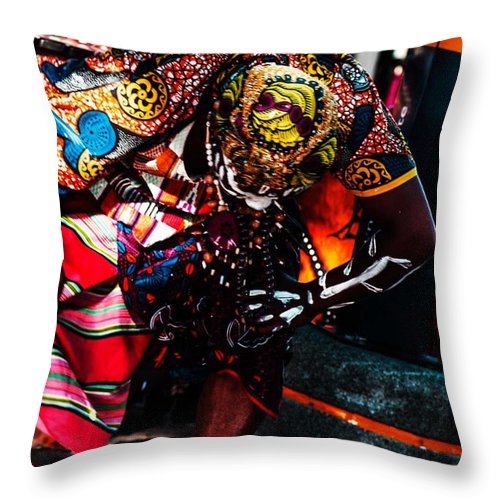 Cape Throw Pillow featuring the photograph Africa by Runaldo Ferre