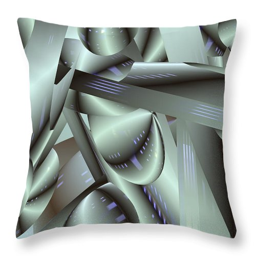 Japan-a-mation Throw Pillow featuring the painting Awe Kew Nice by Scott Piers