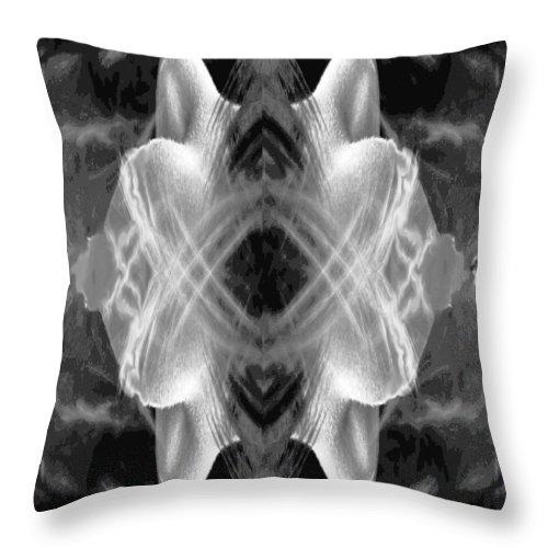 Explosion Throw Pillow featuring the digital art Blast by Alan Pickersgill