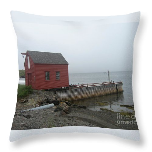 Photograph Bonavista Island Atlantic Ocean Newfoundland Throw Pillow featuring the photograph Bonavista by Seon-Jeong Kim
