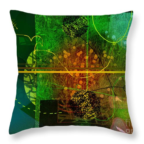 Colorscope Throw Pillow featuring the digital art Colorscope by Andy Mercer