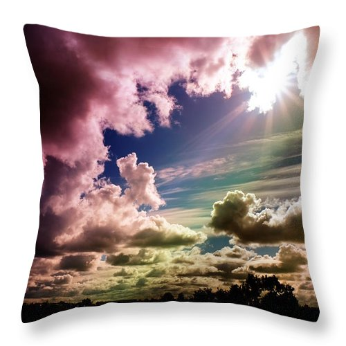 Summer Throw Pillow featuring the photograph Dream by Flavien Gillet