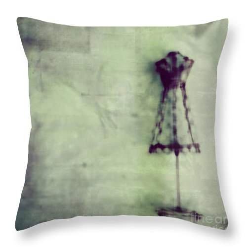 Blue Throw Pillow featuring the photograph Dress Me Up In What You Want Me To Be by Dana DiPasquale