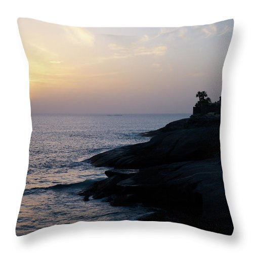 Fanabe Throw Pillow featuring the photograph Fanabe Evening 2 by Jouko Lehto