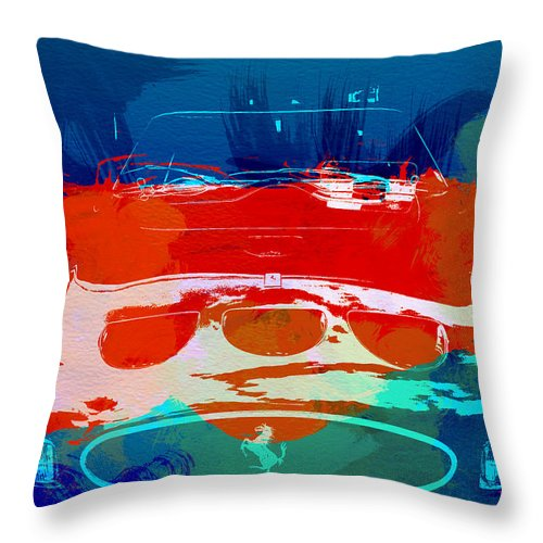 Throw Pillow featuring the photograph Ferrari Gto by Naxart Studio