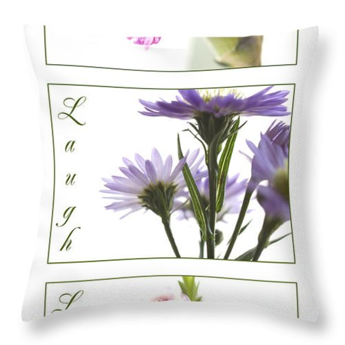 Flower Throw Pillow featuring the photograph Flowers by Jessica Wakefield