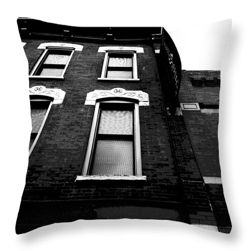 Throw Pillow featuring the photograph Fonder Days by Jamie Lynn