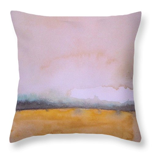 Glow Of Wheat Field Throw Pillow for Sale by Vesna Antic