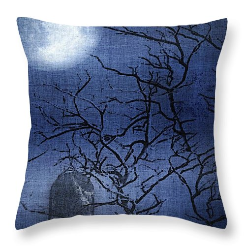 Clouds Throw Pillow featuring the painting Go Ask Alice by RC DeWinter