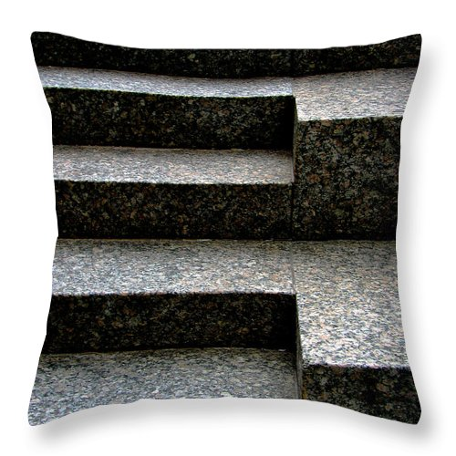 Architectural Throw Pillow featuring the photograph Gradation by Dana DiPasquale