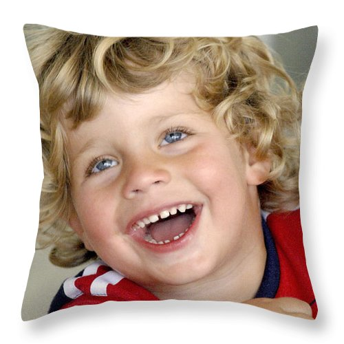 Happy Contest Throw Pillow featuring the photograph Happy Contest 9 by Jill Reger
