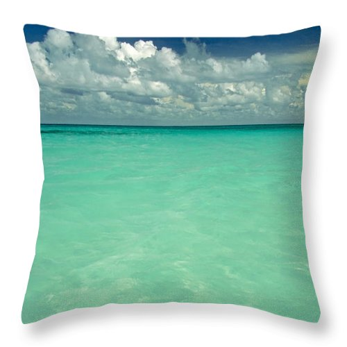 Belize Throw Pillow featuring the photograph Heaven by Skip Hunt
