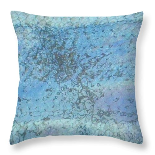 Akers Throw Pillow featuring the photograph Honeycomb Glass by Edmund Akers