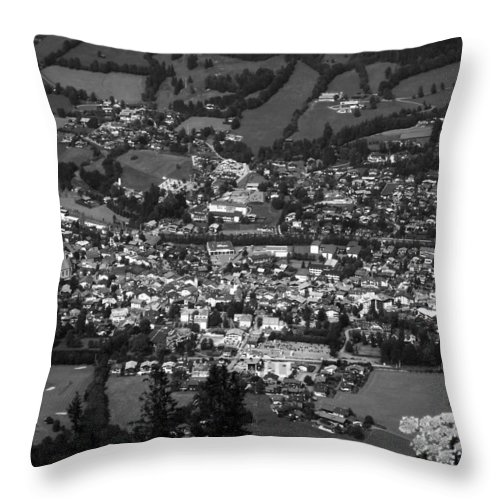 Europe Throw Pillow featuring the photograph Kitzbuehel by Juergen Weiss