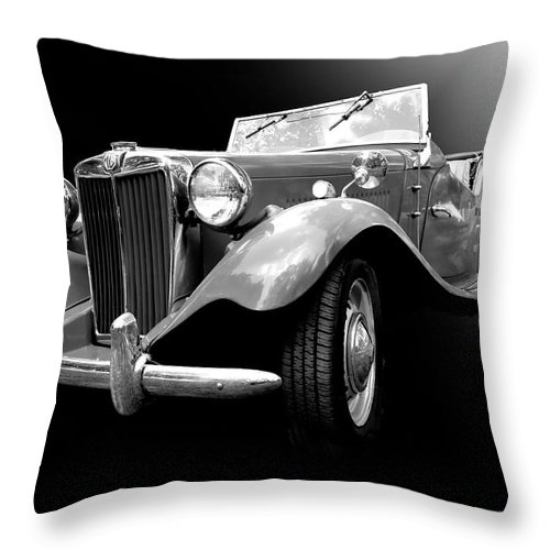 1950s Throw Pillow featuring the photograph Mg-td by Dick Goodman