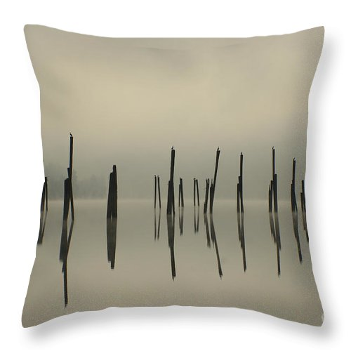 Tranquility Throw Pillow featuring the photograph Pend Oreille Reflections by Idaho Scenic Images Linda Lantzy