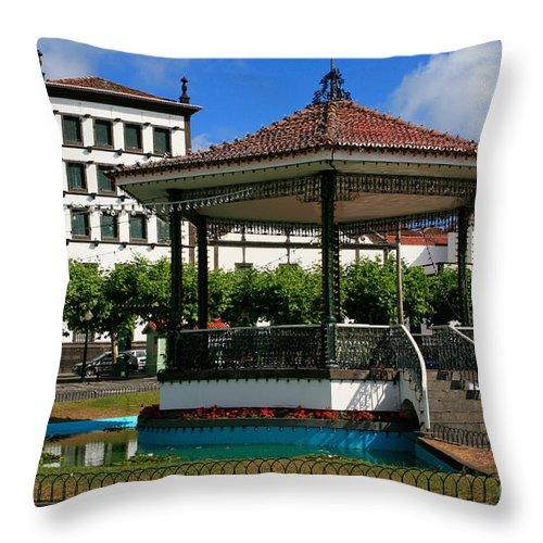 Europe Throw Pillow featuring the photograph Ponta Delgada by Gaspar Avila