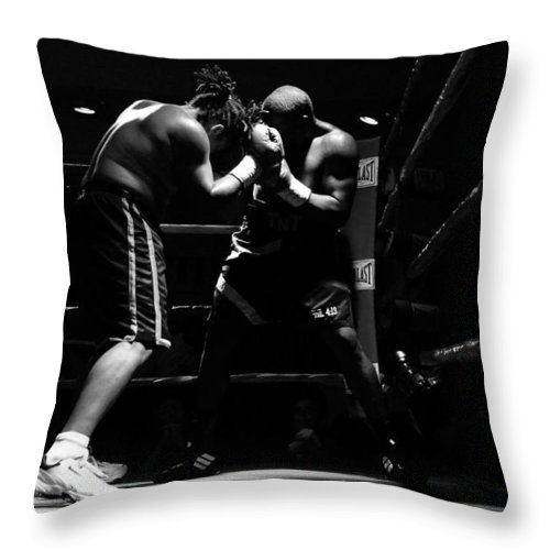 Fine Art Photography Throw Pillow featuring the photograph Prize Fighters by David Lee Thompson