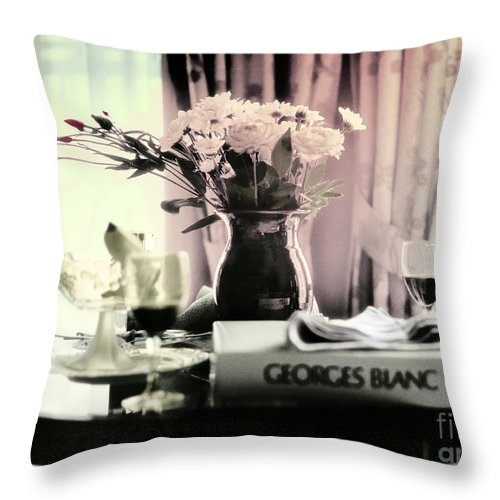 Romance Throw Pillow featuring the photograph Romance In The Afternoon by Madeline Ellis
