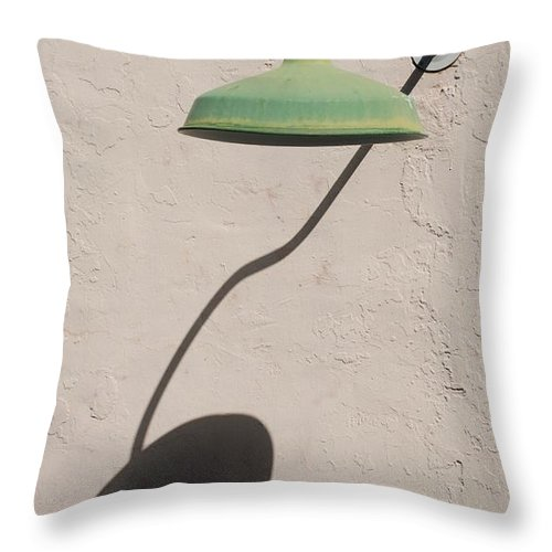 Art Throw Pillow featuring the photograph Shadow Lamp by Rob Hans