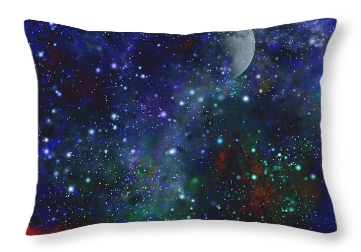 Sky Throw Pillow featuring the photograph Signs In The Heavens by Beverly Guilliams