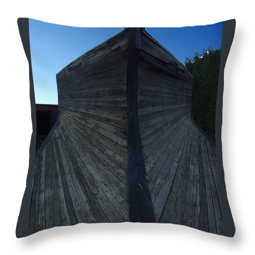 Train Throw Pillow featuring the photograph Snow Plow by Peter Piatt
