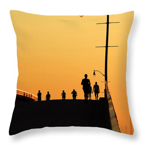 Fine Art Photography Throw Pillow featuring the photograph Solstice by David Lee Thompson