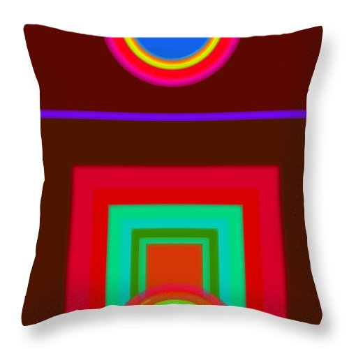 Classical Throw Pillow featuring the digital art Some Like It Hot by Charles Stuart