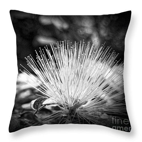 Flower Throw Pillow featuring the photograph Spiked by Onedayoneimage Photography
