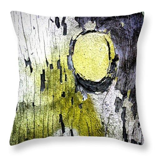 Urban Throw Pillow featuring the photograph #streetart #street #streetphotography by Jah Love