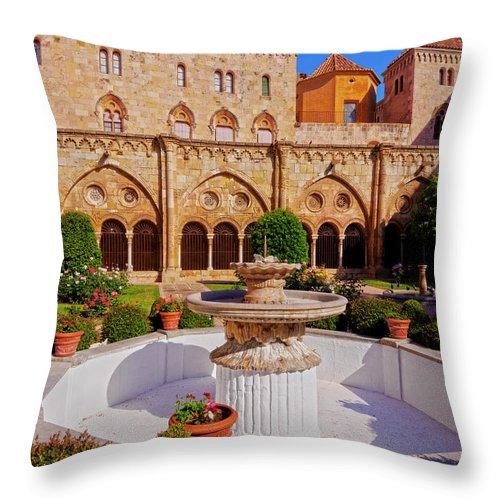 Spain Throw Pillow featuring the photograph Tarragona, Spain by Karol Kozlowski