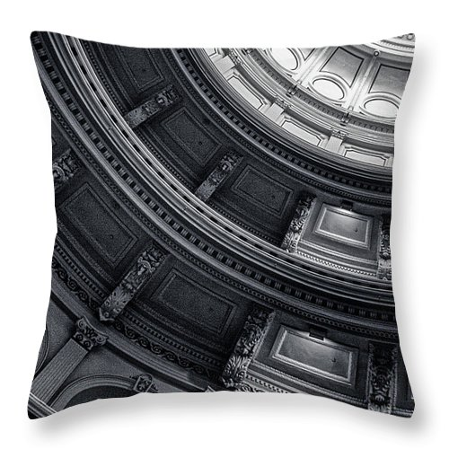 Texas State Capitol Throw Pillow featuring the photograph Texas State Capitol by Doug Sturgess