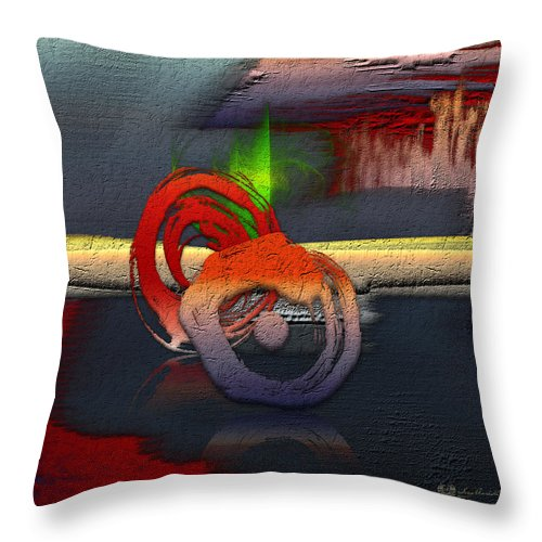 Abstracts Plus By Serge Averbukh Throw Pillow featuring the photograph The Night is Young by Serge Averbukh