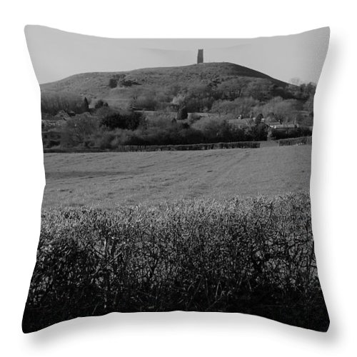 Throw Pillow featuring the photograph Way Home? by David Wood