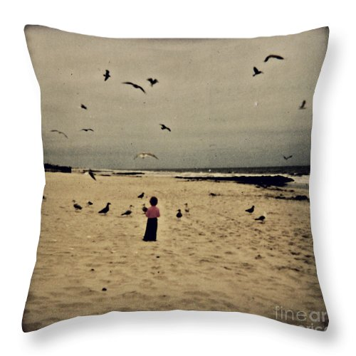 Ocean Throw Pillow featuring the photograph When Promises Were For Keeps by Dana DiPasquale