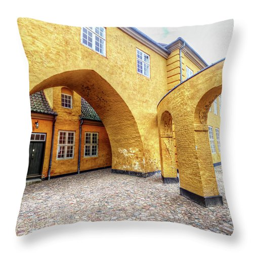 Zealand Denmark Throw Pillow featuring the photograph Zealand Denmark by Paul James Bannerman
