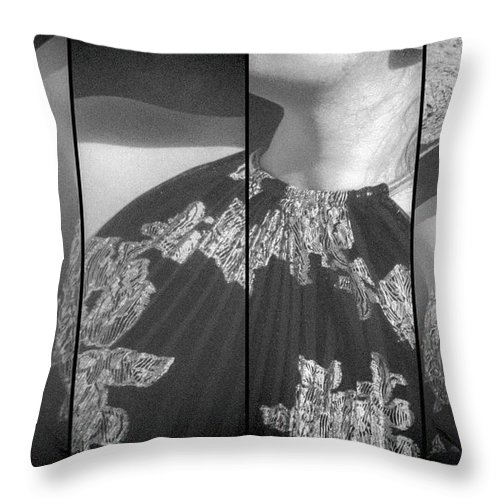 Model Throw Pillow featuring the photograph Attraction by Marit Runyon