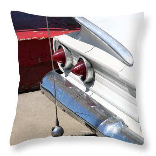Biscayne Throw Pillow featuring the photograph Biscayne by Amanda Barcon