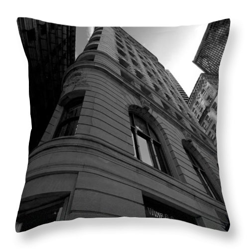 Architecture Throw Pillow featuring the photograph Boston by Jason Smith
