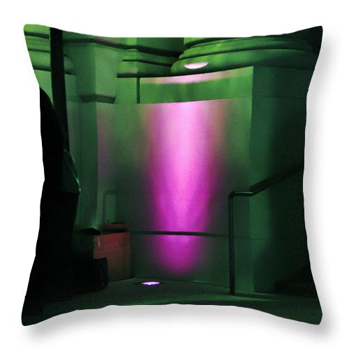 Clay Throw Pillow featuring the photograph City Hall Pasadena California by Clayton Bruster